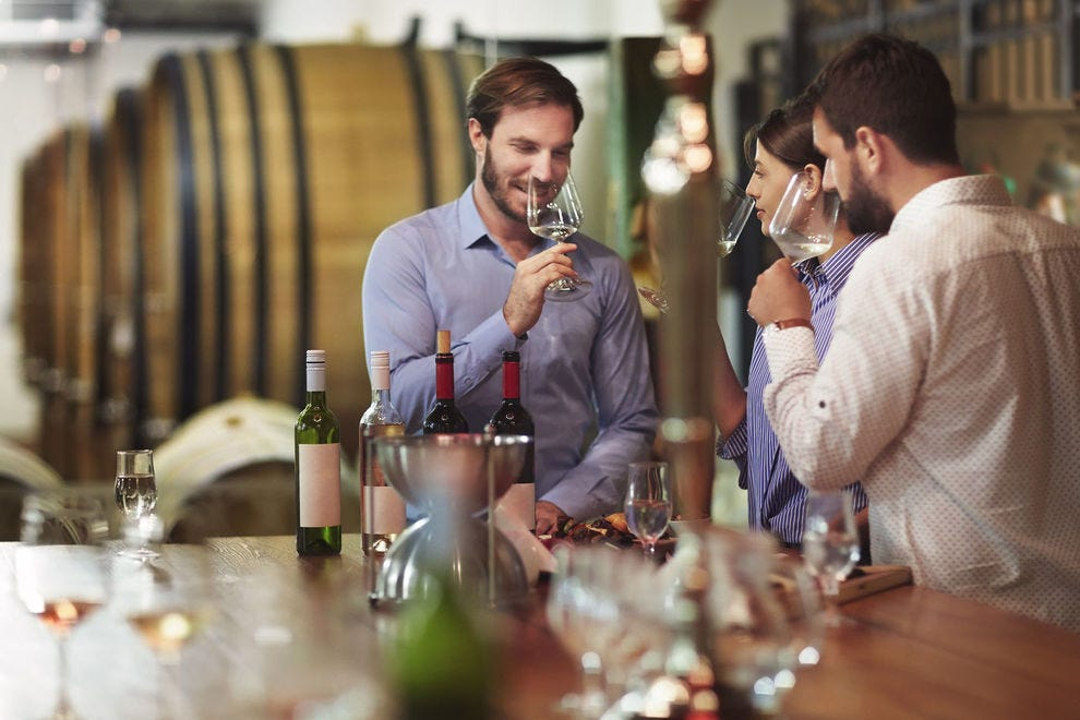 Which winery offers the best sipping experience?
