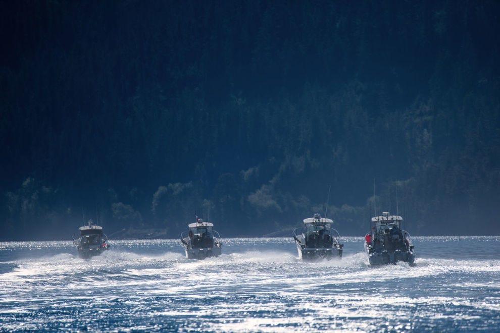 On the west coast of the island, Nootka Marine Adventures operates three fishing resorts