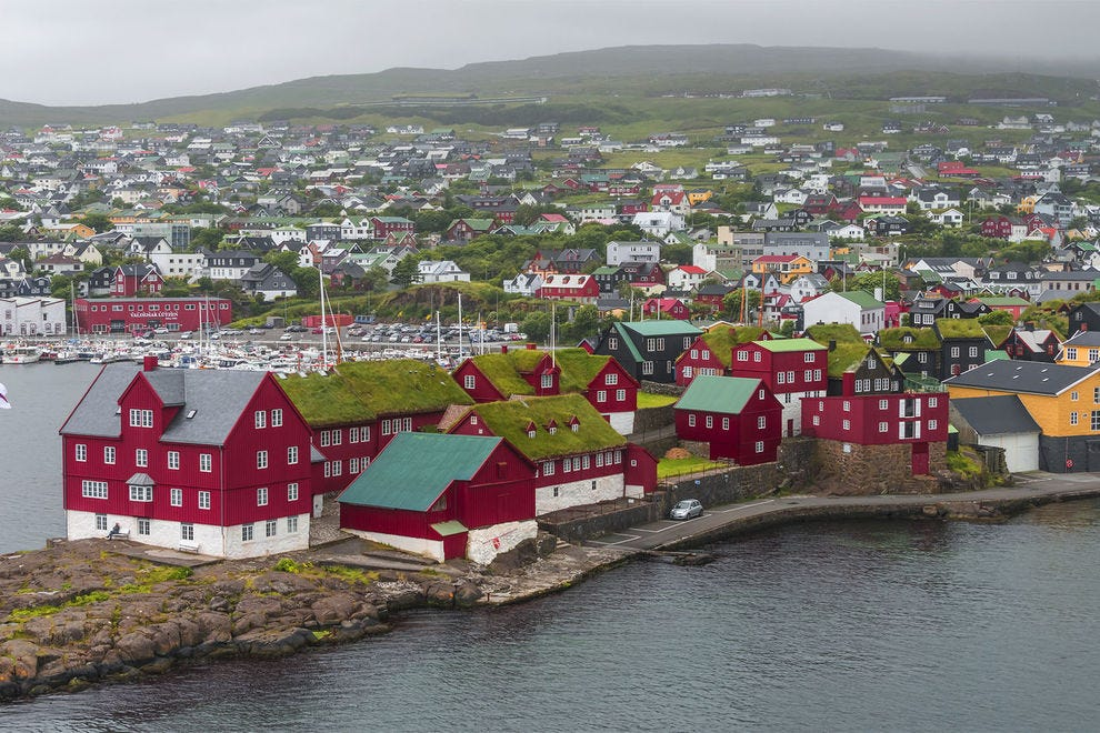 Visit Torshavn for European charm and gorgeous views