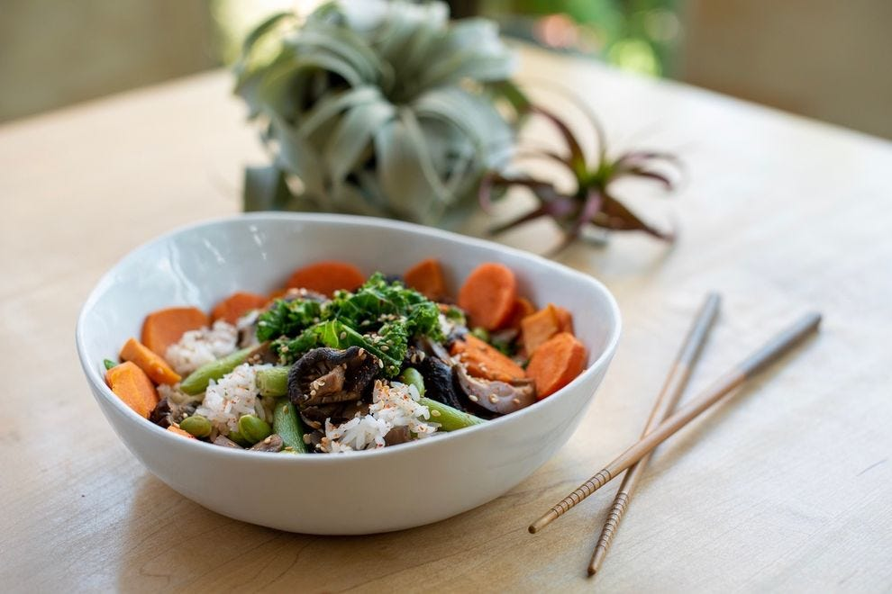 Opuntia Cafe's bowls combine protein, ancient grains and veggies