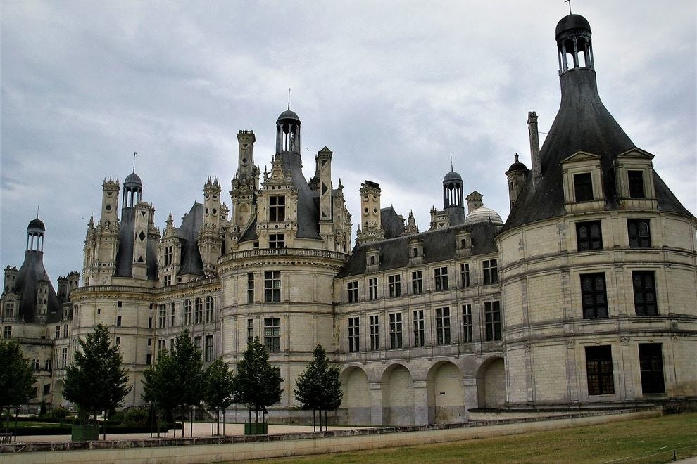 The breathtaking exterior of the Château de Chambord