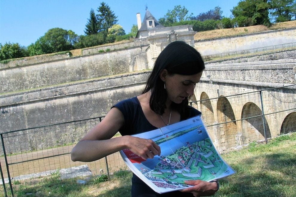 UNESCO Heritage Citadel of Blaye guided walking tour by the Office of Tourism