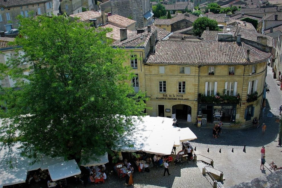 The picturesque UNESCO Heritage French village of Saint-Emilion
