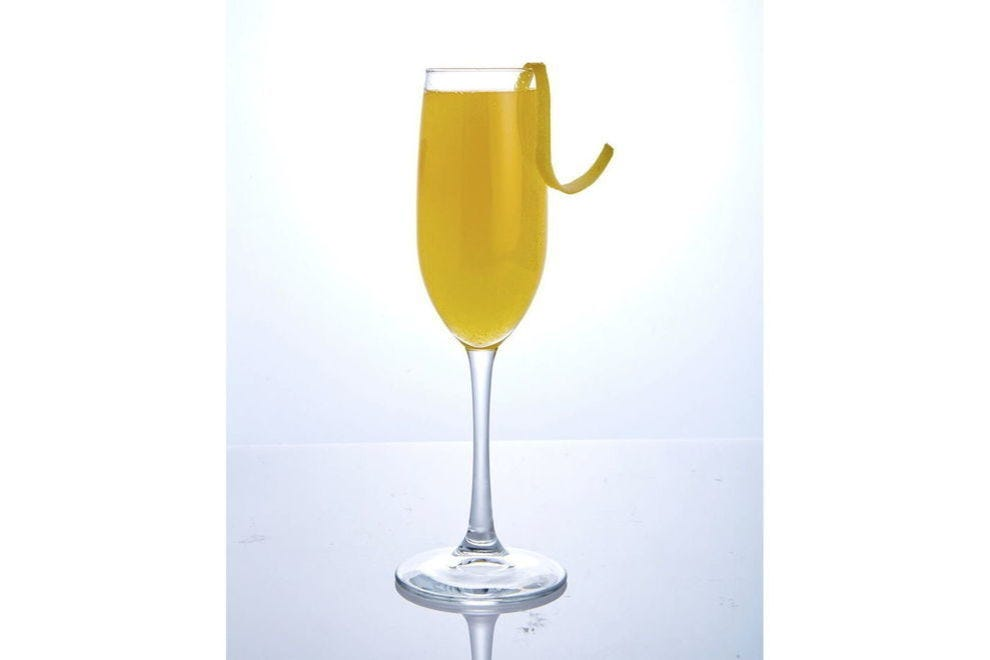 You'll want to keep this bellini flowing all brunch long