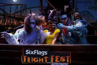 Fright Fest at Six Flags Great Adventure
