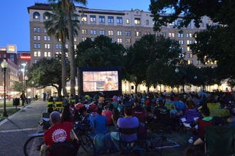 Take in a Free Outdoor Movie, Historic Ruin and More in SA