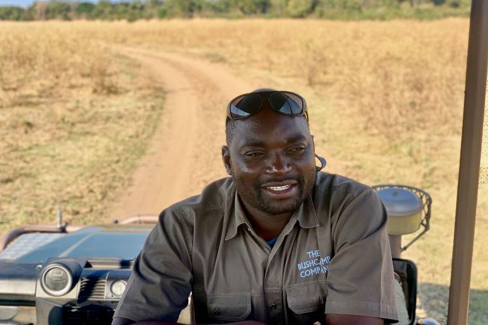 Fannuel Banda, the Bushcamp Safari Guide and Chamilandu Bushcamp Manager