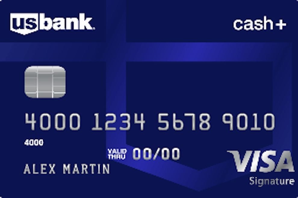 U.S. Bank Cash+ Visa