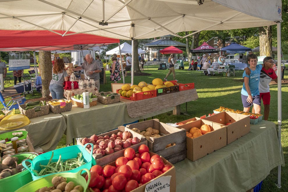 Enjoy the season's bounty at the Vergennes Farmers Market