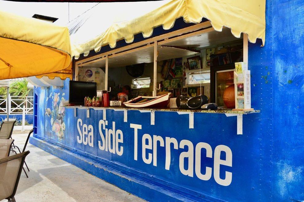 Sea Side Terrace in Curacao
