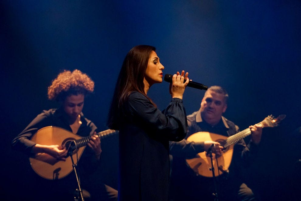 Ana Sofia Varela sings Fado, soulful folk music that is a cornerstone of Portuguese culture