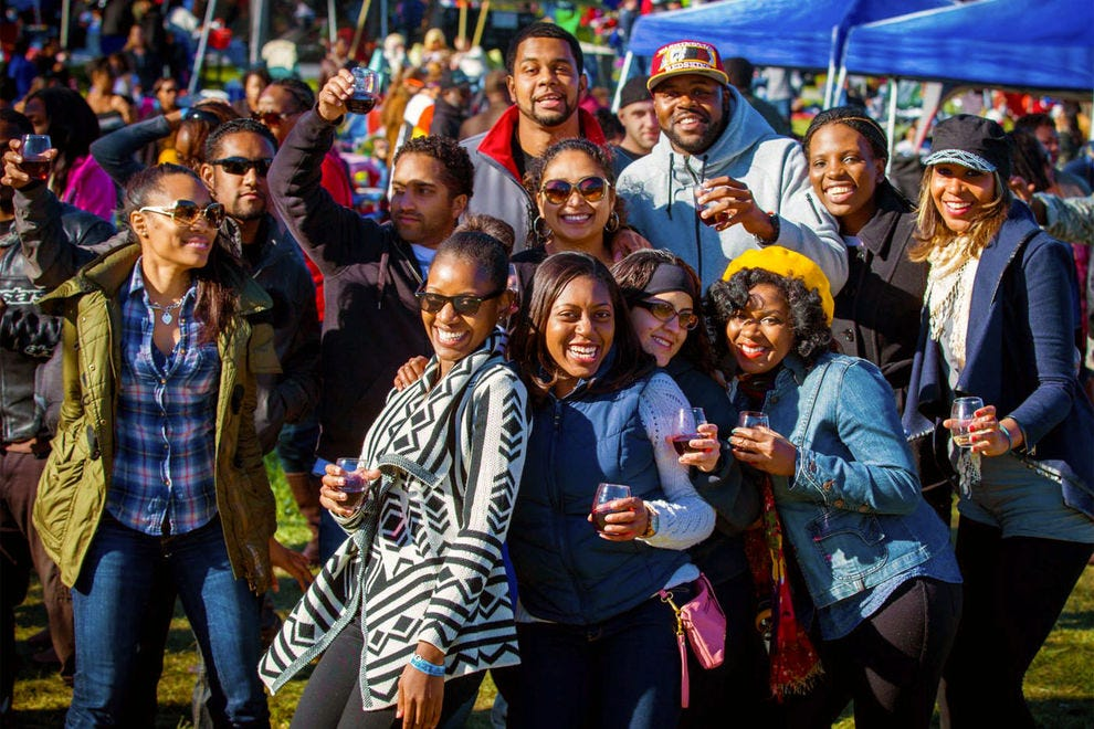 Linganore Winecellars has hosted the Autumn Reggae Wine and Music Festival since the 70s.
