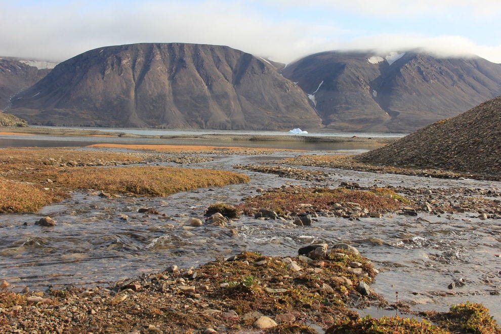 Devon Island, located in northern Nunavut, is the largest uninhabited island on Earth