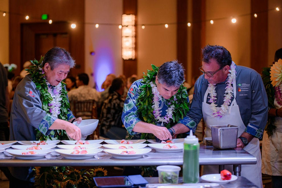 Chefs at Hawaii Food and Wine Festival