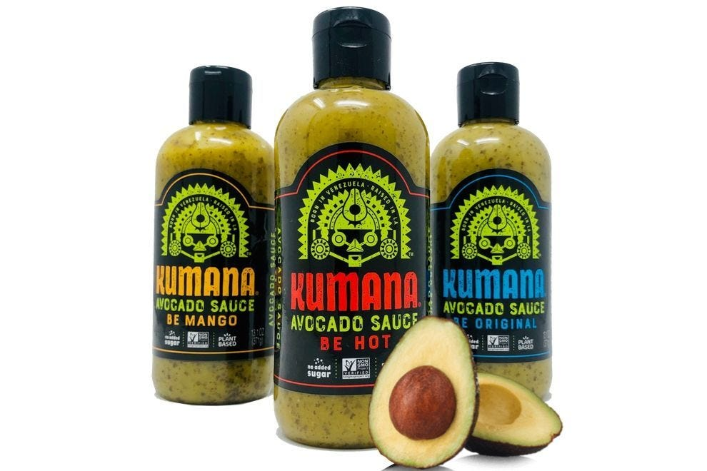 Kumana Avocado Hot Sauce Variety Pack