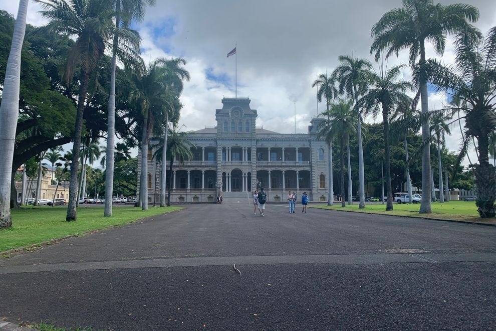 The Iolani Palace