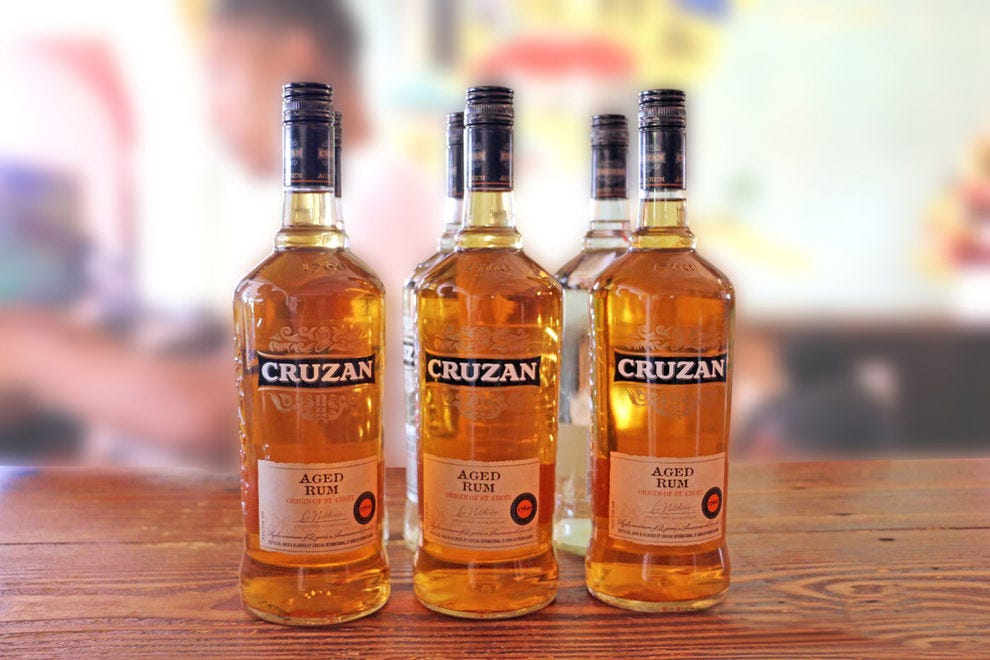 Cruzan Rum is  distilled in the US Virgin Islands