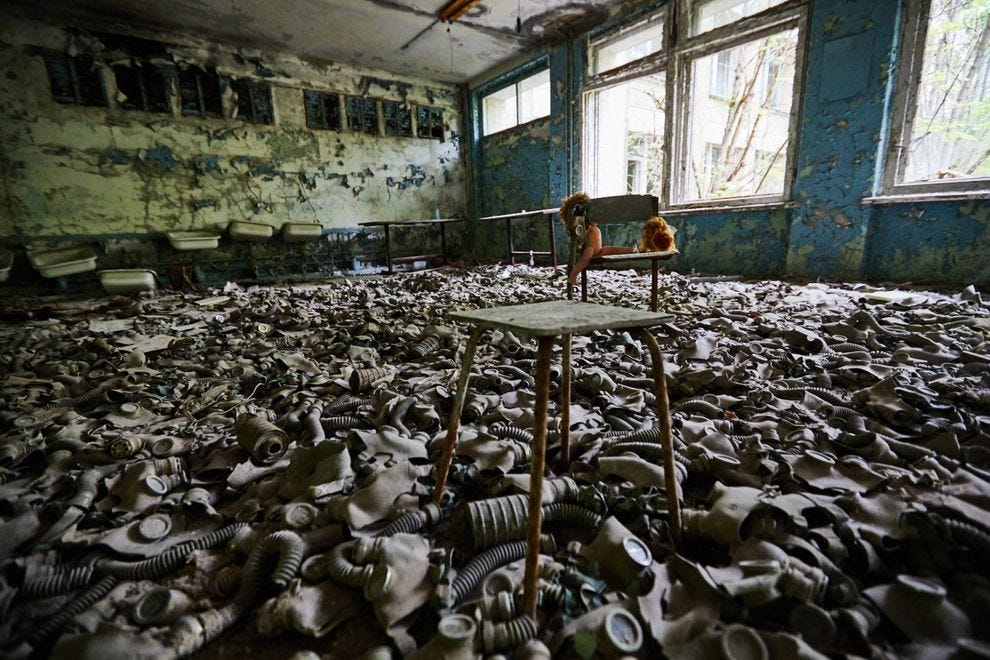Grammar school in Pripyat