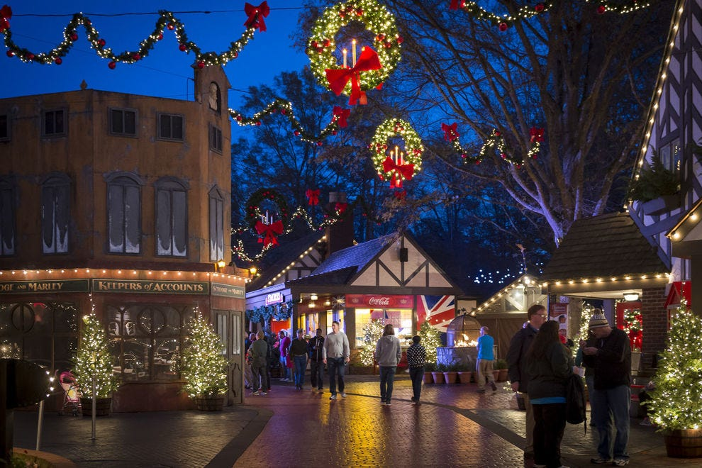 Best Theme Park Holiday Event Winners