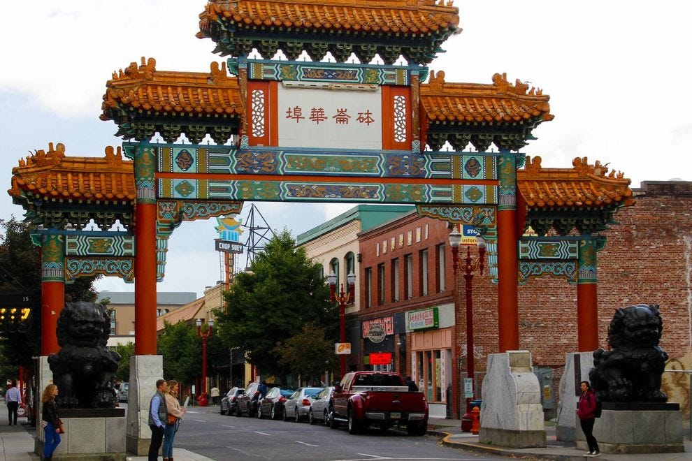 Feel like you've stepped into another country in Chinatown