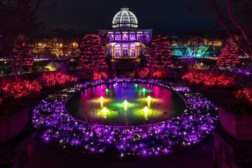 Best Botanical Garden Holiday Lights Winners 2019 Usa Today 10best