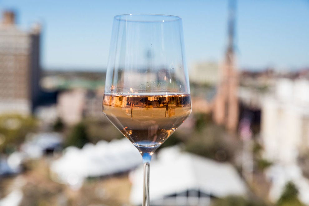 A who's who of culinary legends descends on Charleston's skyline for Charleston Wine + Food