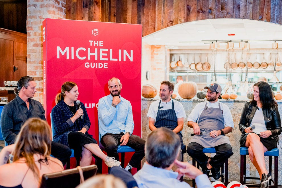 Michelin-starred chefs host discussions, demos and dinners throughout euphoria