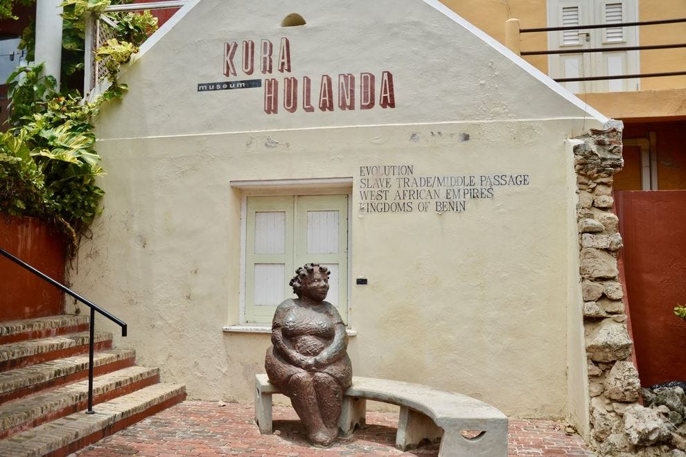 The Kura Hulanda museum in Curacao's Otrobanda neighborhood