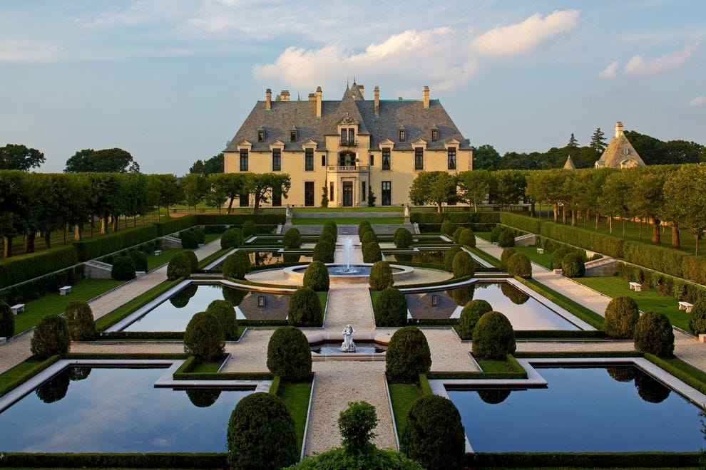 """Blank Space"" showcases a lot of Oheka Castle's beauty"
