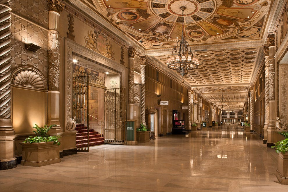 The Millennium Biltmore Hotel was a beautiful backdrop for a fun video
