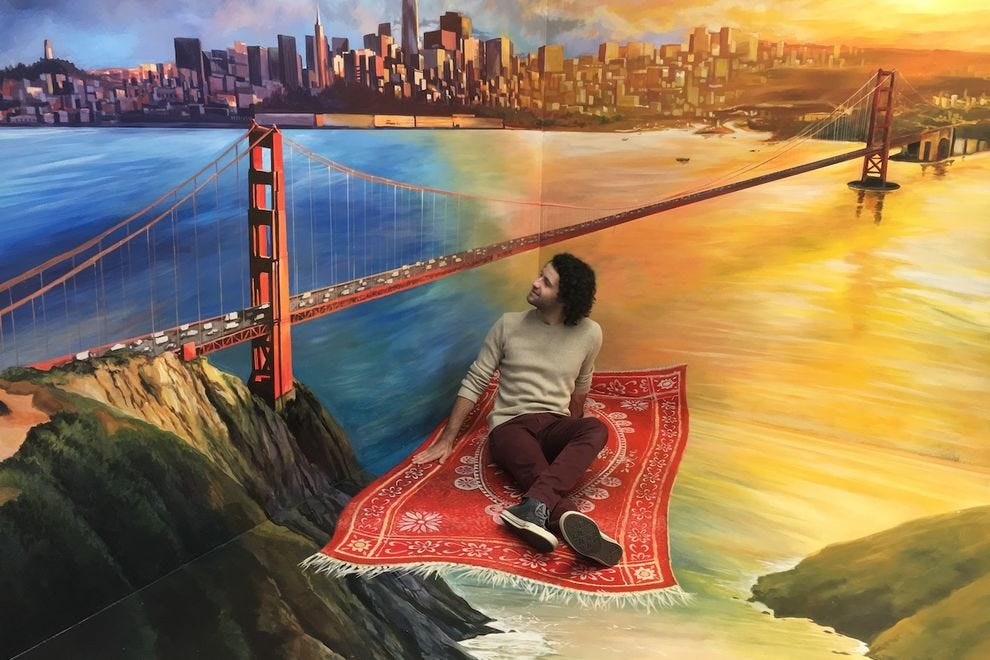 Become a part of the art at this San Francisco museum