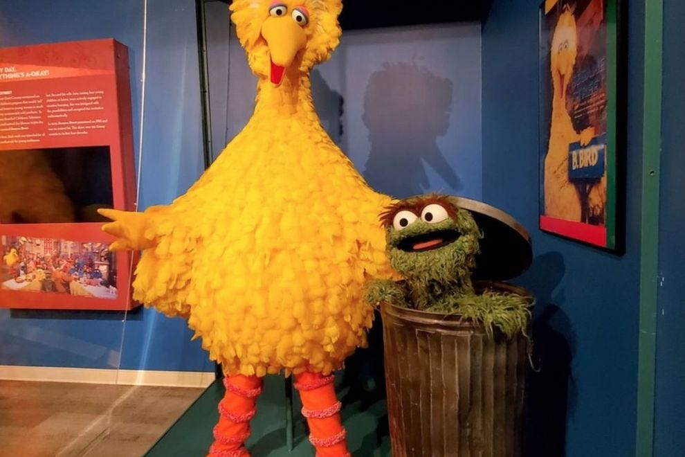 """See the world of """"Sesame Street"""" at the Worlds of Puppetry Museum"""