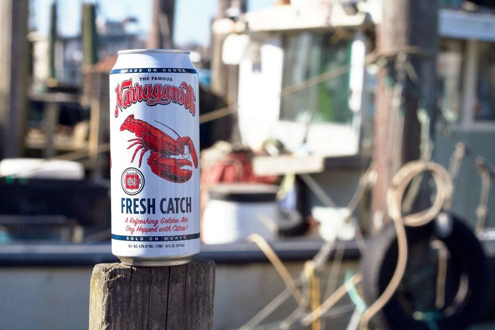 Narragansett is a New England classic!