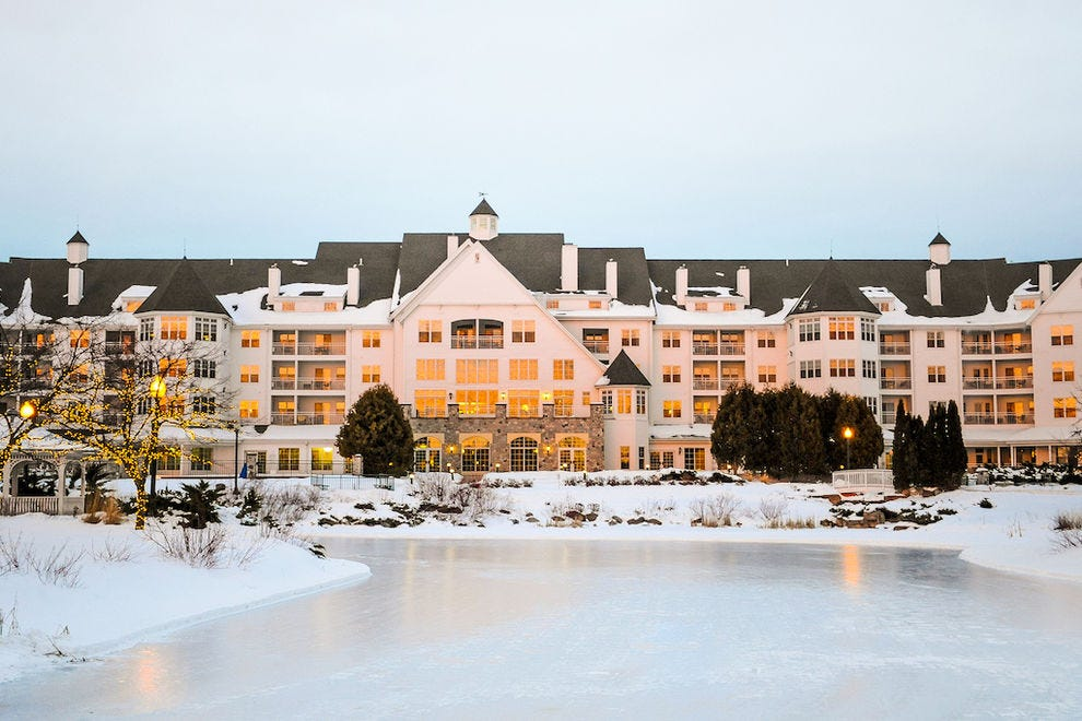 The Osthoff Resort is magical any time of the year