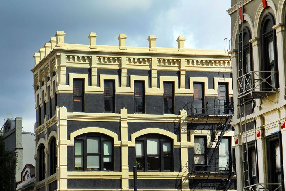 Enjoy the diversity in the details of Portland's architecture