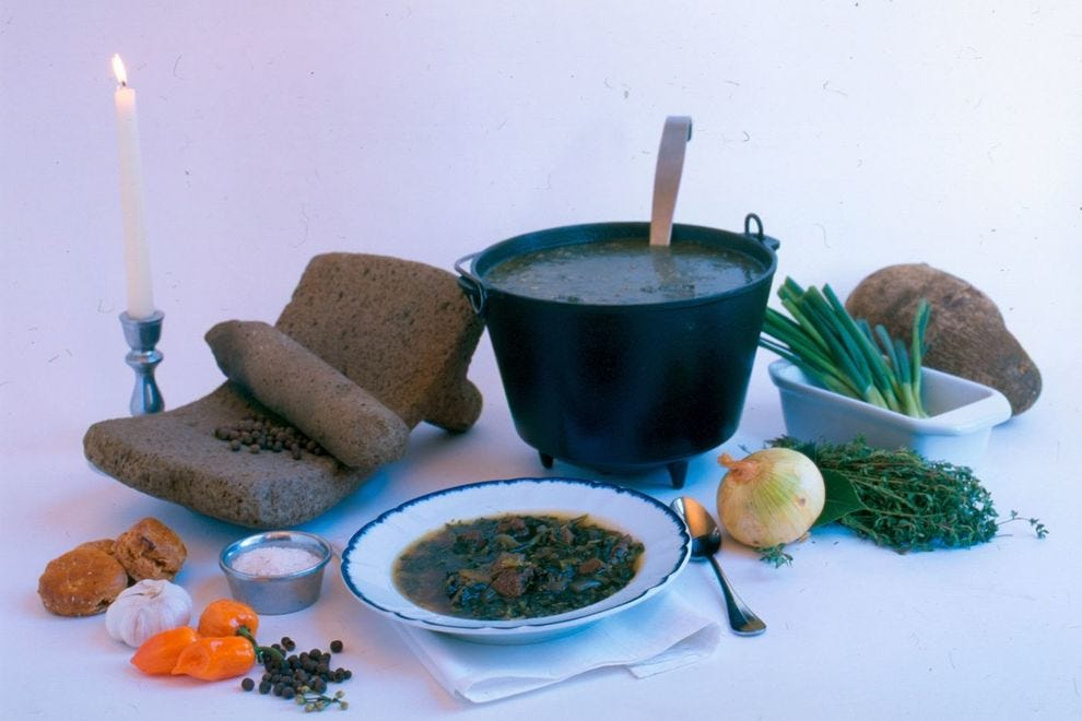 Pepperpot was a popular dish in Philadelphia during the 18th century
