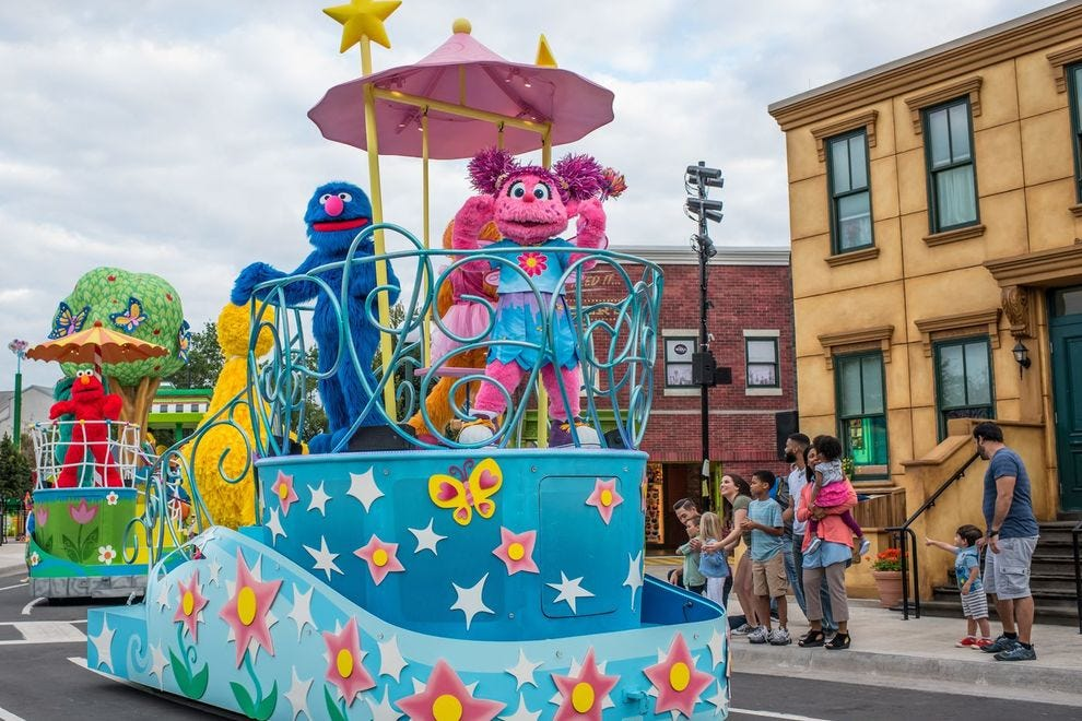 SeaWorld Orlando brought Sesame Street to life in 2019