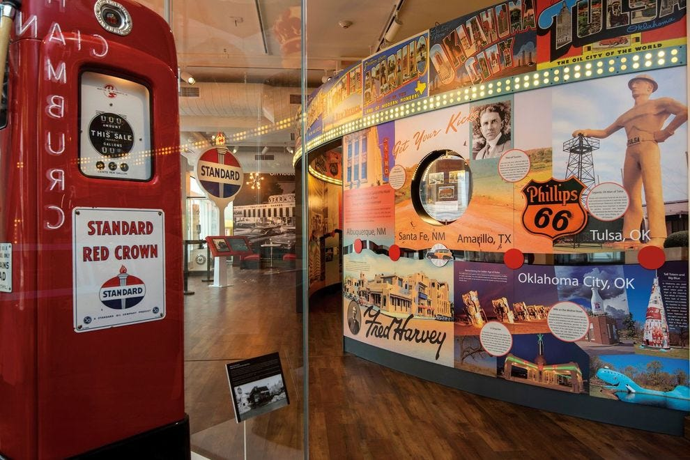 Winning museum tells the story of this Route 66 stop