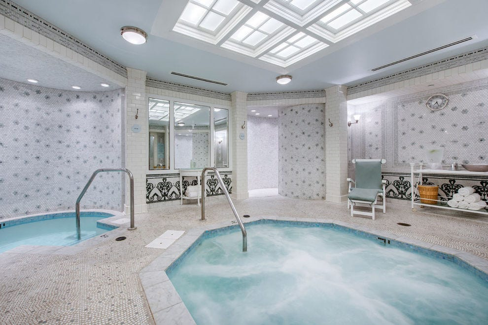 """Every spa treatment includes use of the """"Bedford Baths"""" at the Omni Bedford Springs Resort"""