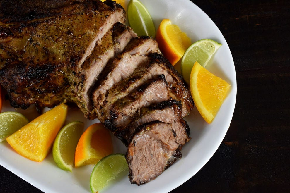 This dish of roasted pork is incredibly popular