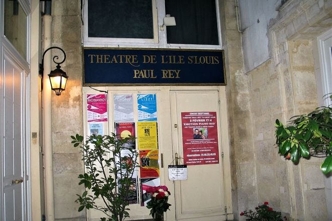 Theatre de L'Ile Saint Louis - Paul Rey