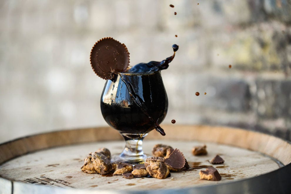 Crafty Bastard Reese's Cup Pastry Stout
