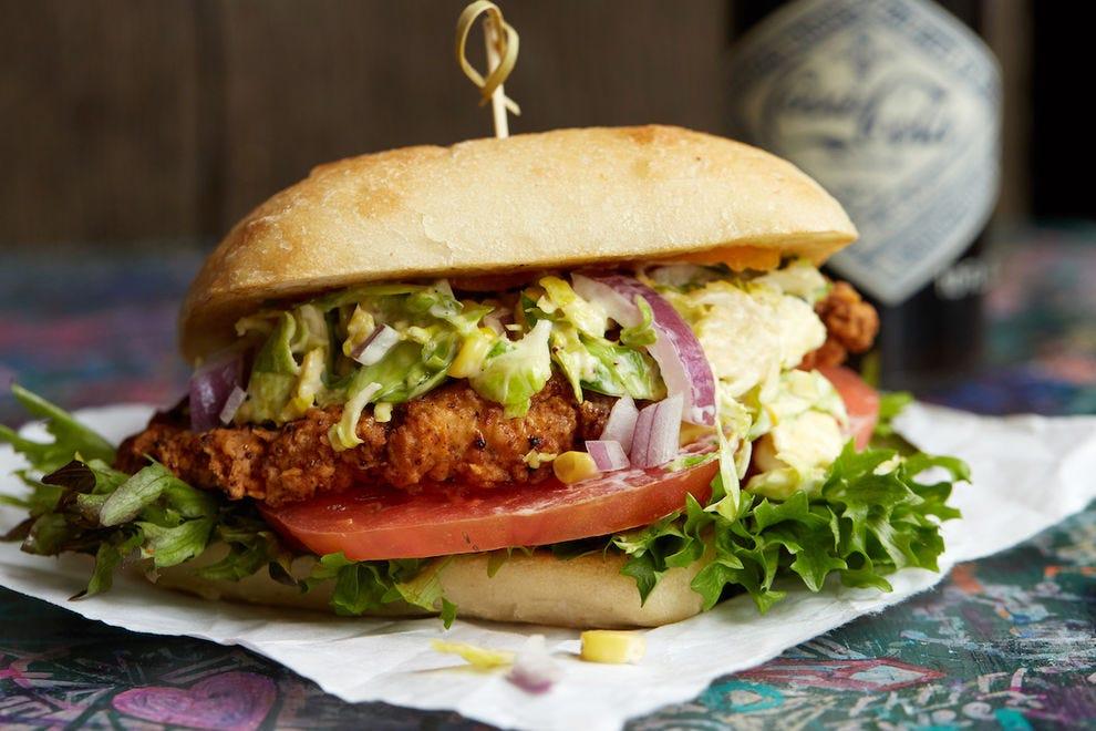 Katalina's Southern Fried Buttermilk Chicken Sandwich