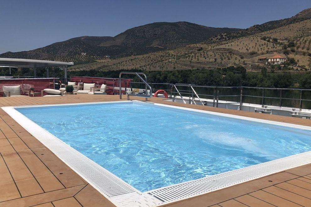 A piscina do Viking Helgrim