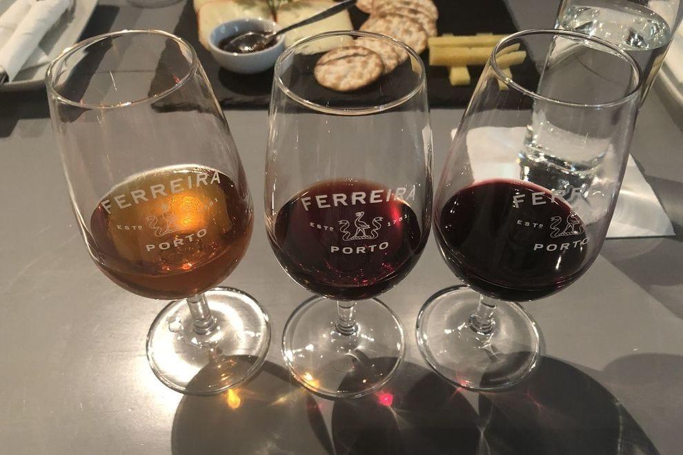 taças de vinho do porto