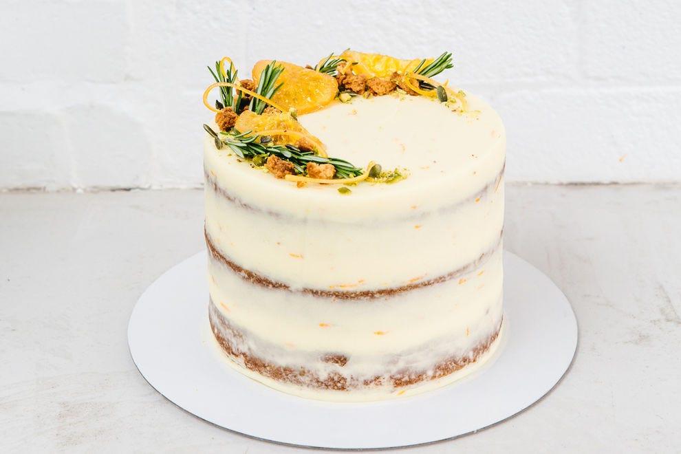 Carrot cake from Luminary Bakery