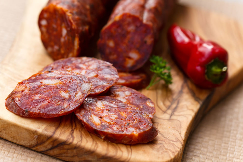 Chorizo is one of the most widely consumed meats in Spain