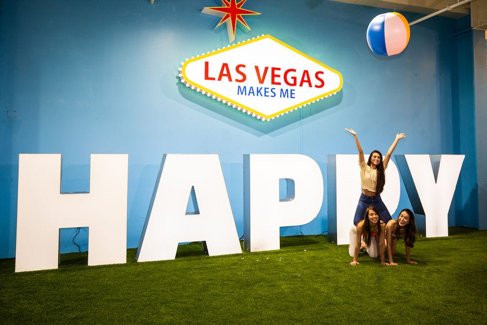 You can literally find your Happy Place in Las Vegas
