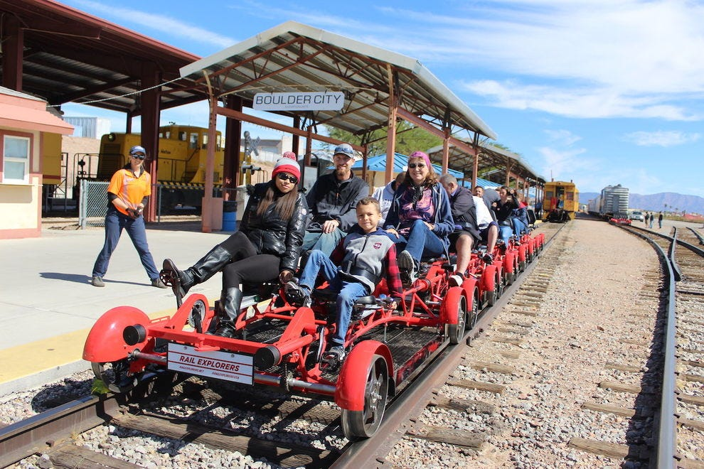 Put the pedal to the metal with Rail Explorers