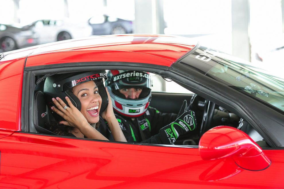 Feel the need for speed? Check out Exotics Racing
